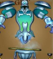 氷晶の聖塔で戦うボスの氷魔フィルグレア