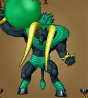 エルジュの部屋で戦うボスの魔獣サルファバル