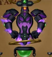 冥闇の聖塔で戦うボスの闇魔ティトス