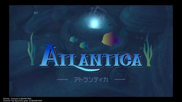 【キングダムハーツ1】アトランティカ~セーブポイントや難破船への行き方、ボス戦な