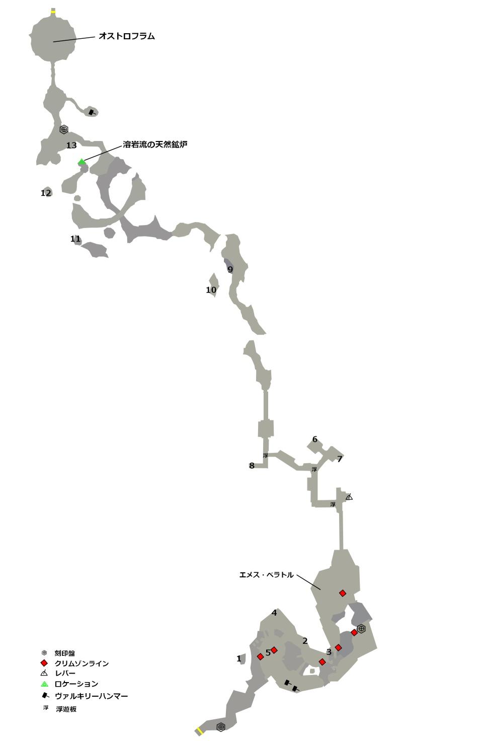 石切り場マップ