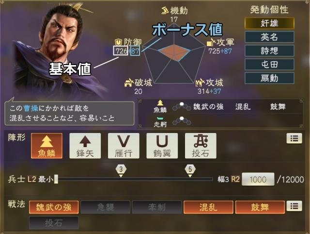 三國志14chosa1-1