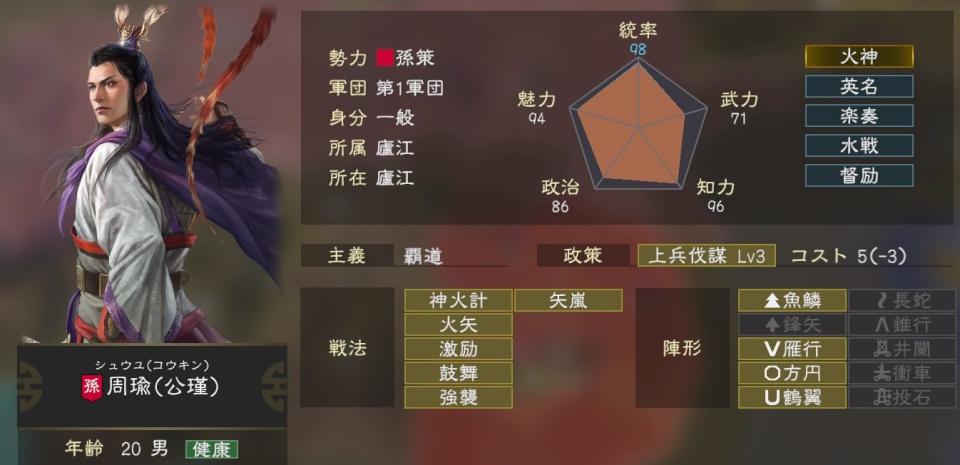 三國志14tips4-3
