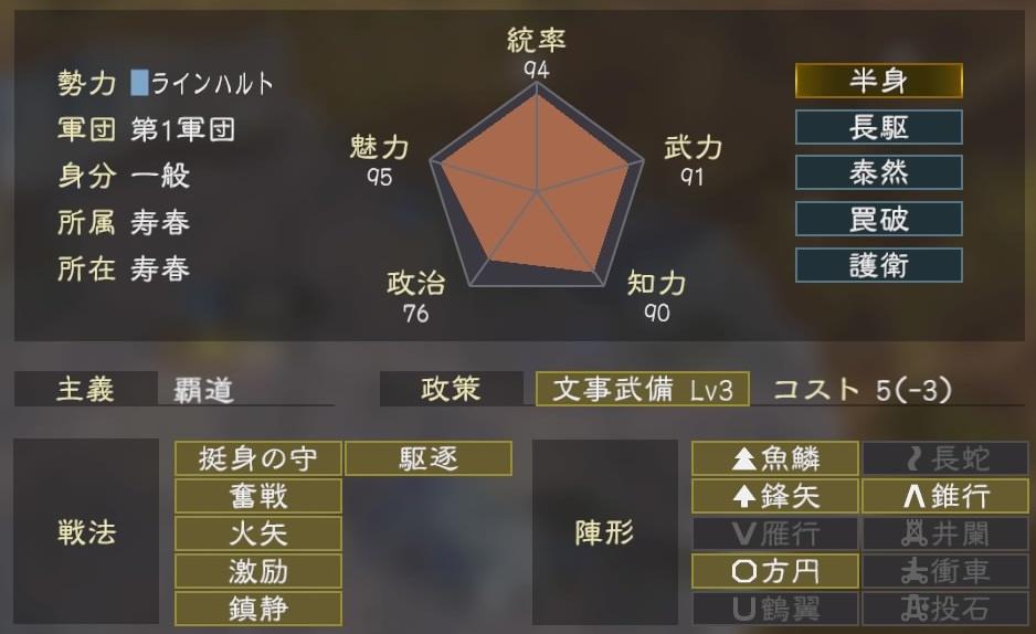 三國志14コラボ1-2
