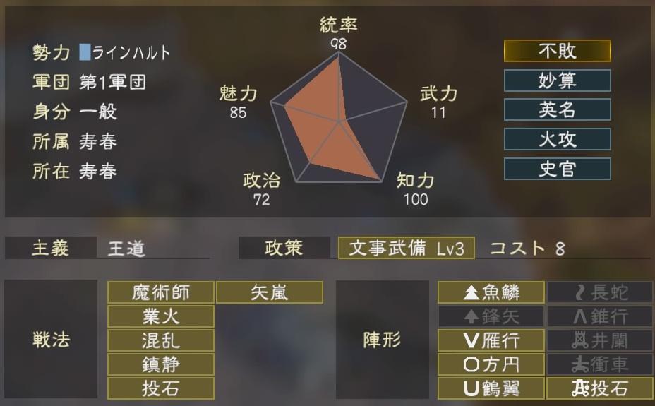 三國志14コラボ1-3