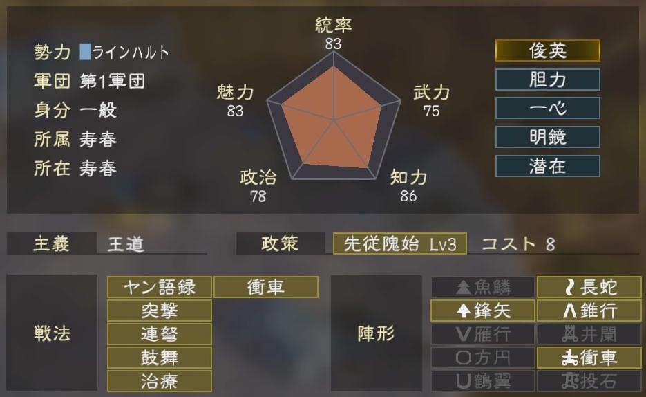 三國志14コラボ1-4