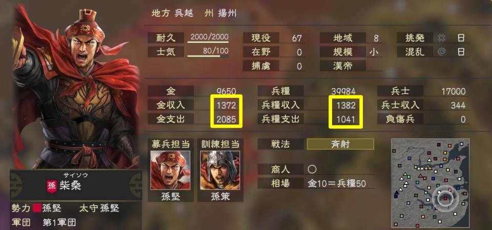 三國志14tips6-1