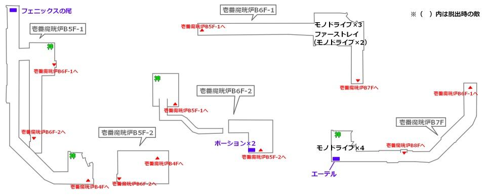FF7リメイクマップ1-3