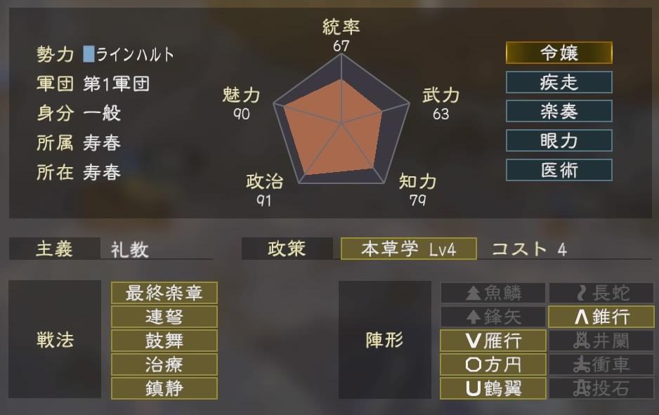 三國志14コラボ3-1