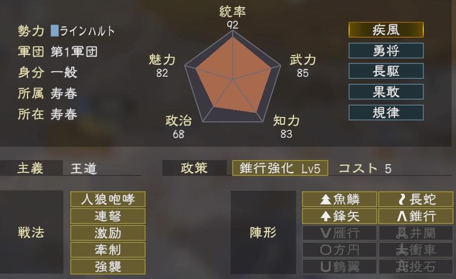 三國志14コラボ4-2