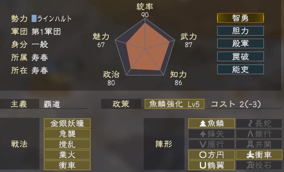 三國志14コラボ4-3