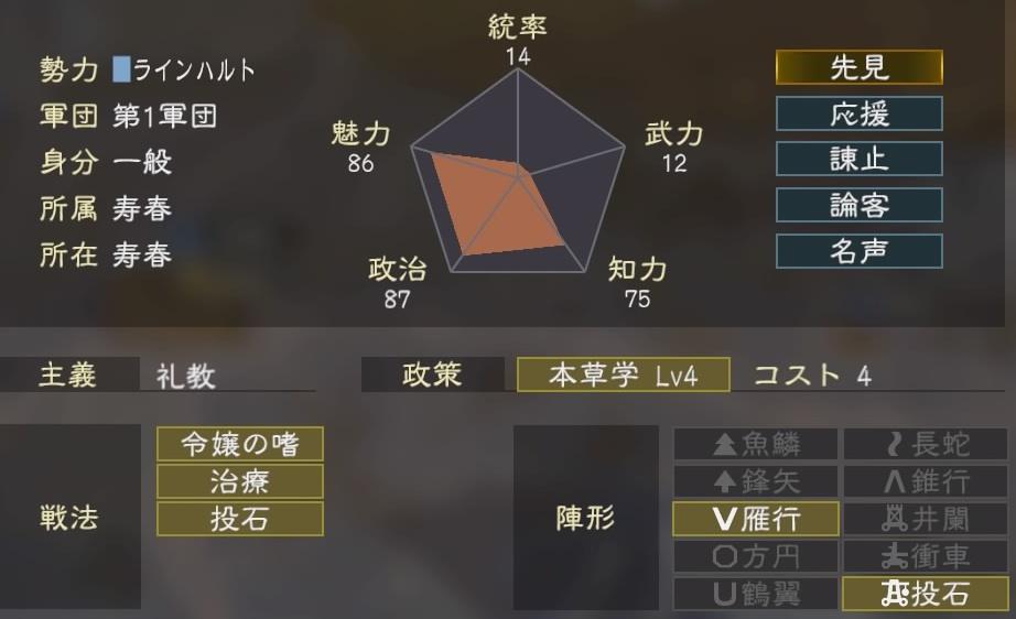 三國志14コラボ4-4