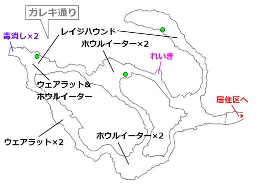 FF7リメイクマップ3-3