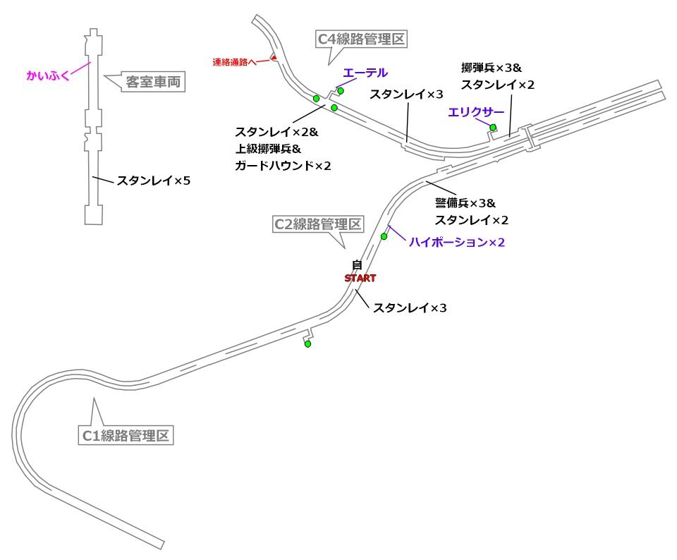 FF7リメイクマップ5-1