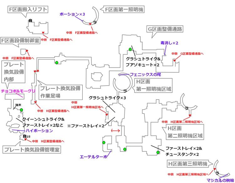 FF7リメイクマップ6-1
