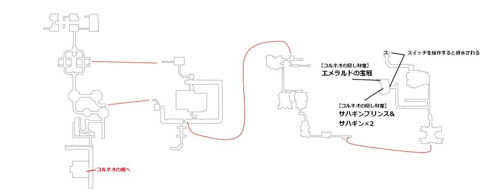 FF7リメイク14章クエスト用マップ2