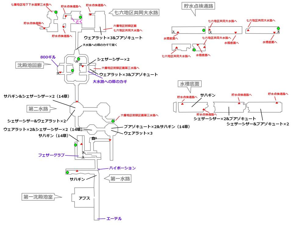 FF7リメイクマップ10-1