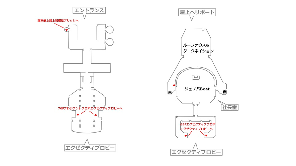 FF7リメイクマップ16-5