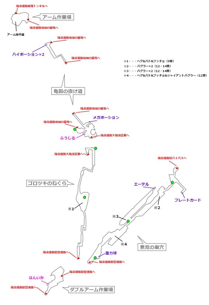 FF7リメイクマップ9-2-2