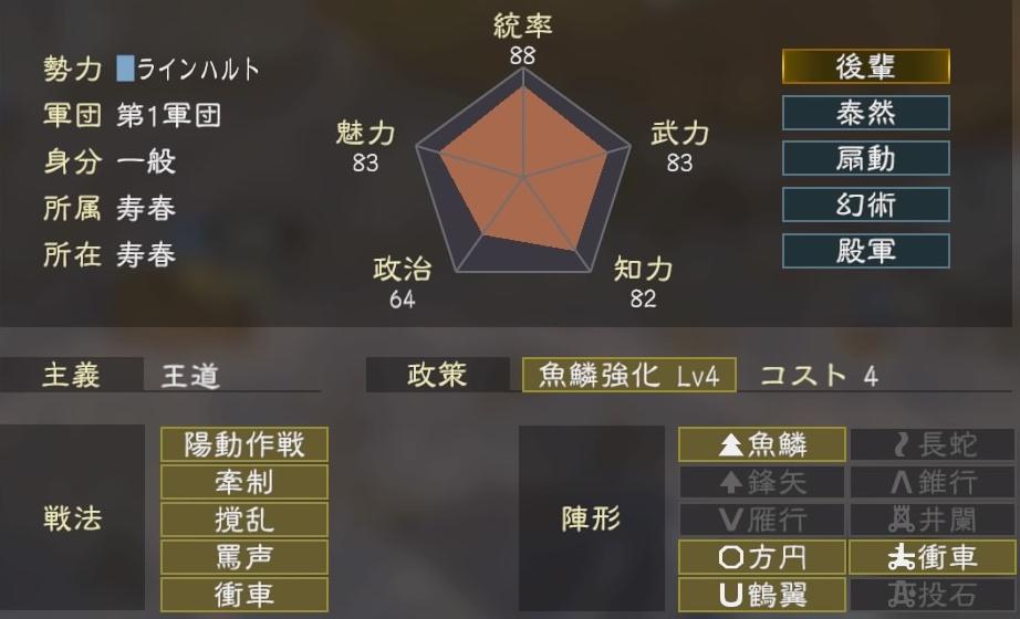三國志14コラボ5-4