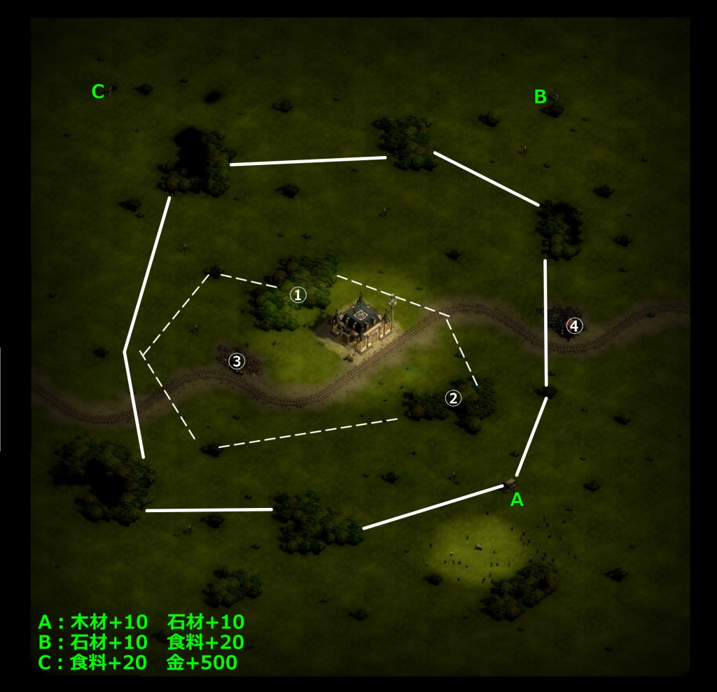 ゼイアービリオンズキャンペーン狩人の草原マップ