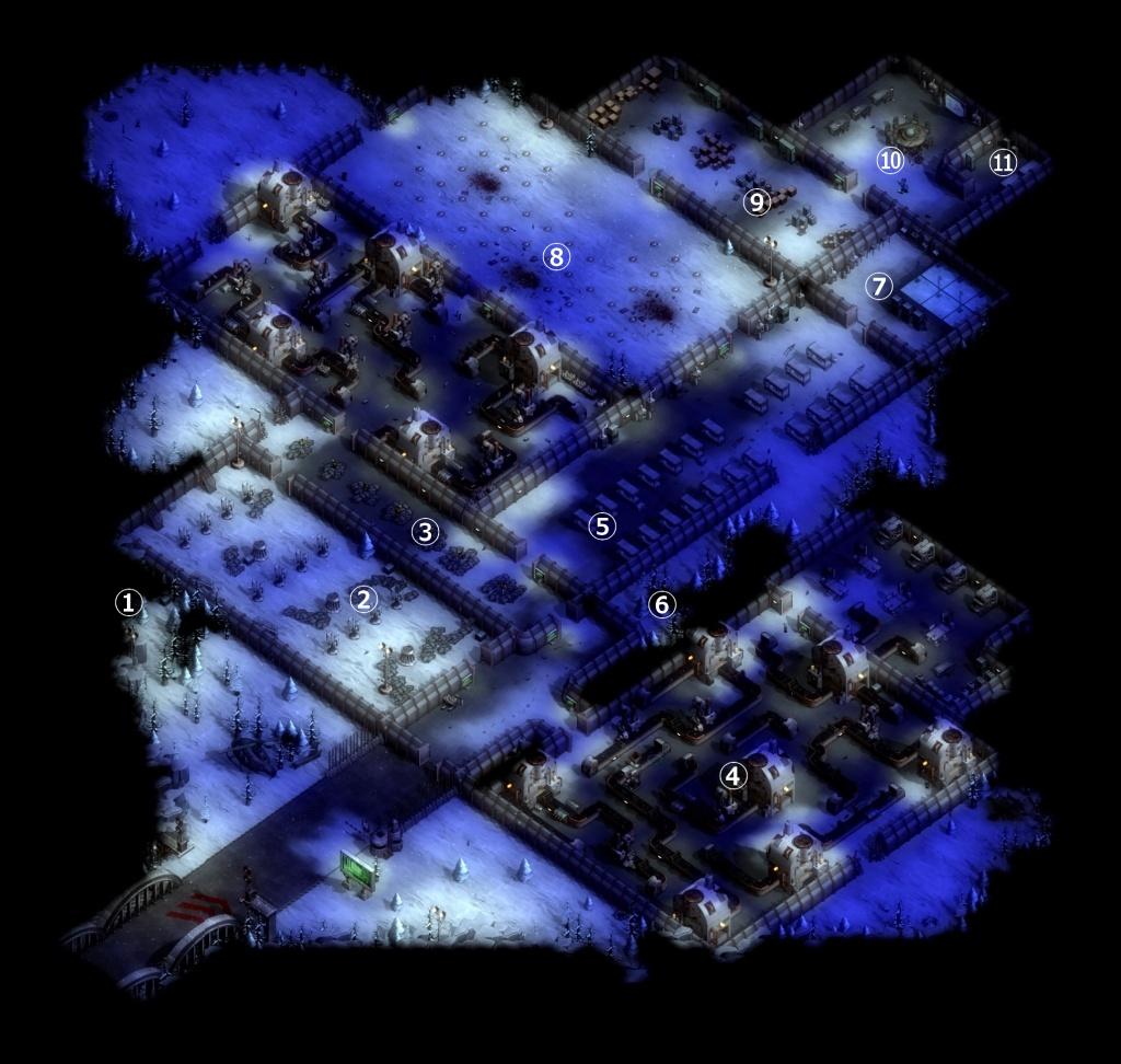 ゼイアービリオンズキャンペーン武器工場マップ