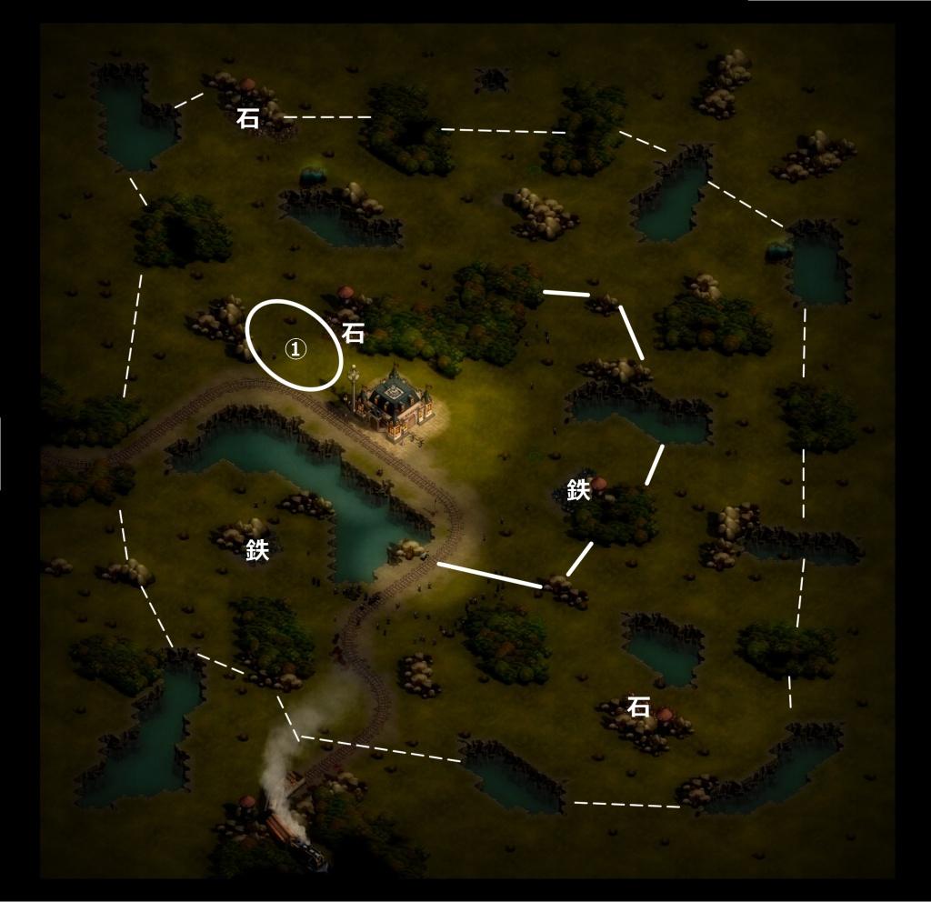 ゼイアービリオンズキャンペーンローランドマップ