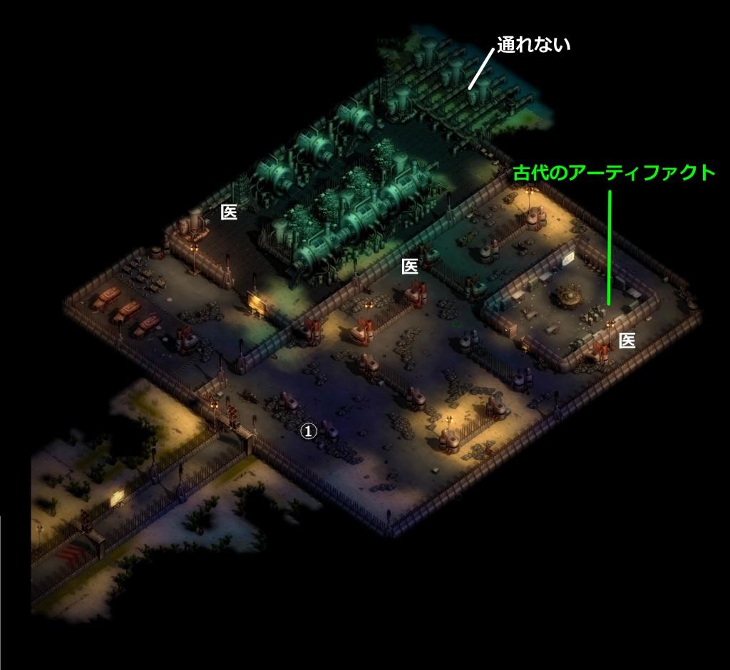 ゼイアービリオンズキャンペーン鉄の要塞マップ